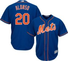 58219f2e12a Majestic Men's Replica New York Mets Pete Alonso #20 Cool Base