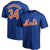 Majestic Men's New York Mets Noah Syndergaard #34 Royal T-Shirt