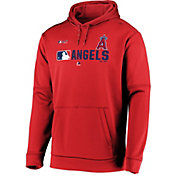 Majestic Men's Los Angeles Angels Authentic Collection Pullover Hoodie