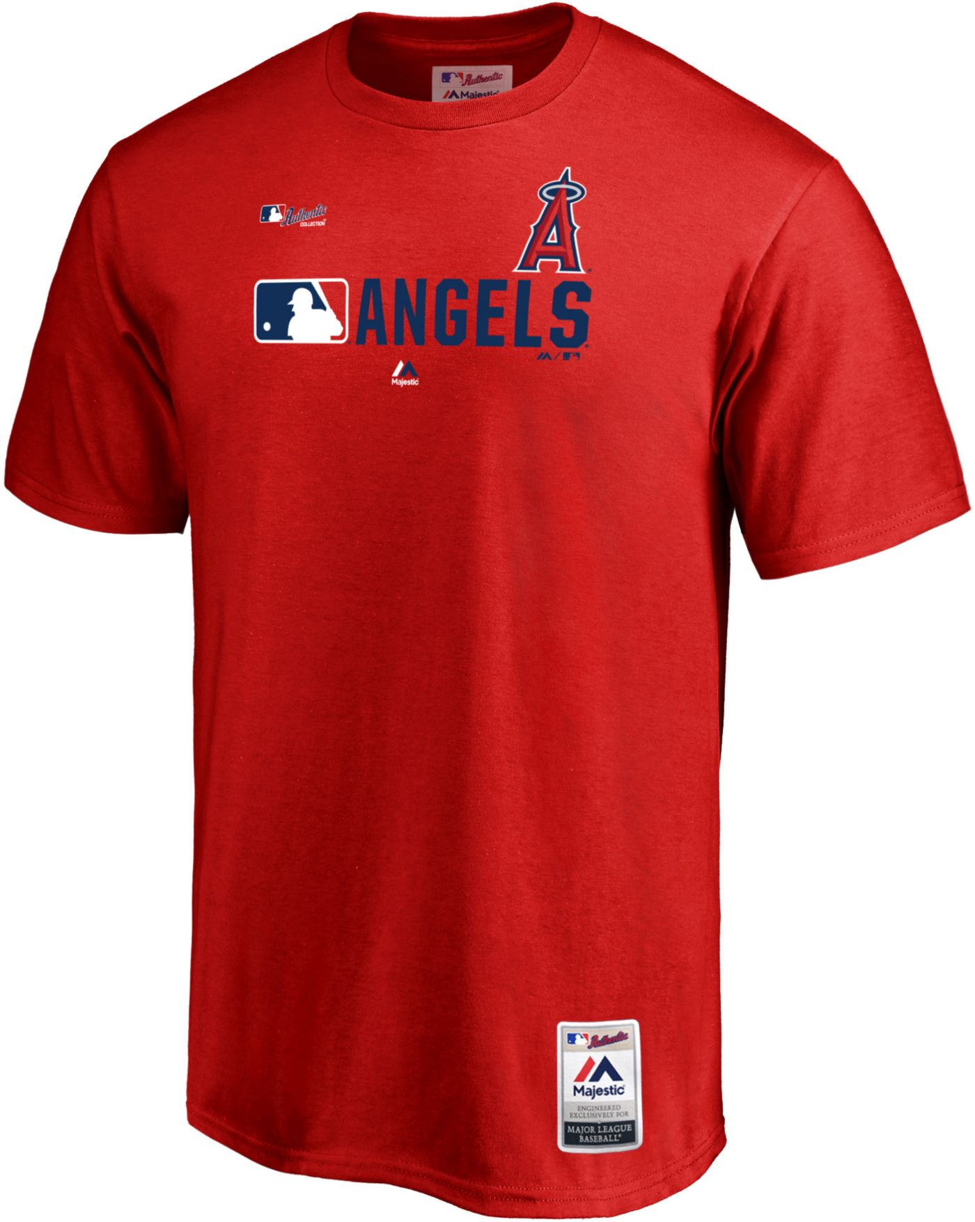 Majestic Men's Los Angeles Angels Authentic Collection T-Shirt