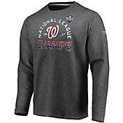 Men's 2019 National League Champions Locker Room Washington Nationals Long Sleeve Shirt