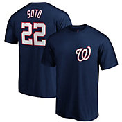 Majestic Men's Washington Nationals Juan Soto #22 Navy T-Shirt