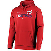 Majestic Men's Washington Nationals Authentic Collection Pullover Hoodie