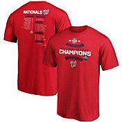 Men's 2019 National League Champions Washington Nationals Roster T-Shirt