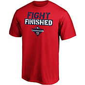 "Men's 2019 World Series Champions Washington Nationals ""Fight Finished"" T-Shirt"