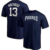 Majestic Men's San Diego Padres Manny Machado #13 Navy T-Shirt