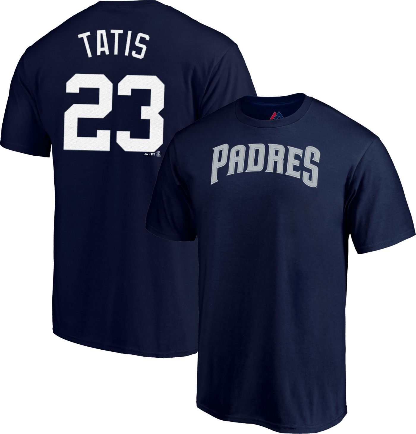 Majestic Men's San Diego Padres Fernando Tatis Jr. #23 Navy T-Shirt