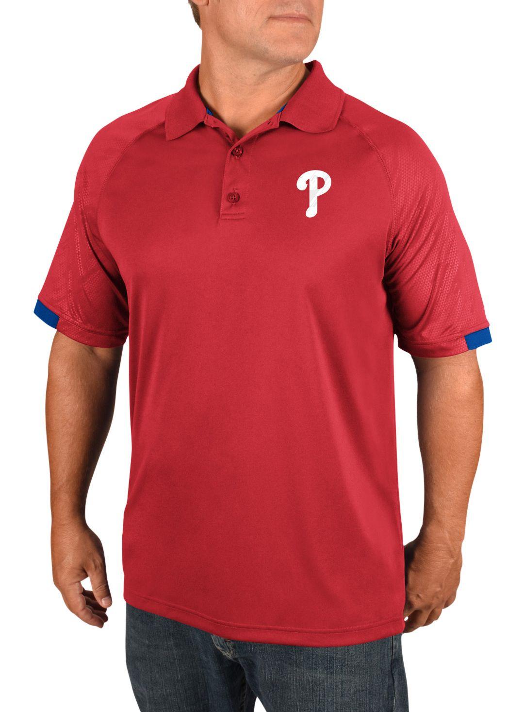 e9f342ecf Majestic Men's Philadelphia Phillies Polo