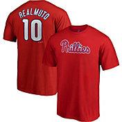 Majestic Men's Philadelphia Phillies J.T. Realmuto #10 Red T-Shirt