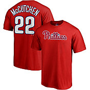 Majestic Men's Philadelphia Phillies Andrew McCutchen #22 Red T-Shirt