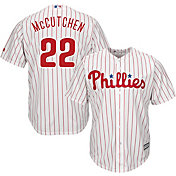 Majestic Men's Replica Philadelphia Phillies Andrew McCutchen #22 Cool Base Alternate Red Jersey