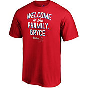 "Majestic Men's Philadelphia Phillies ""Welcome to the Phamily Bryce"" T-Shirt"