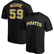 Majestic Men's Pittsburgh Pirates Joe Musgrove #59 Black T-Shirt