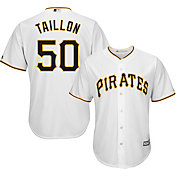 Majestic Men's Replica Pittsburgh Pirates Jameson Taillon #50 Cool Base Home White Jersey