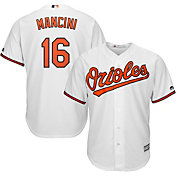 Majestic Men's Replica Baltimore Orioles Trey Mancini #16 Cool Base Home White Jersey