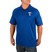 Majestic Men's Texas Rangers Polo