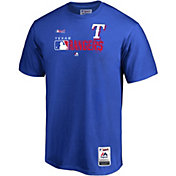 Majestic Men's Texas Rangers Authentic Collection T-Shirt