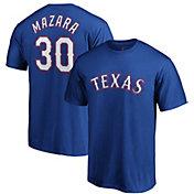 Majestic Men's Texas Rangers Nomar Mazara #30 Royal T-Shirt