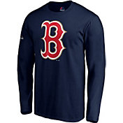 Majestic Men's Boston Red Sox Championship Gold Long Sleeve Shirt
