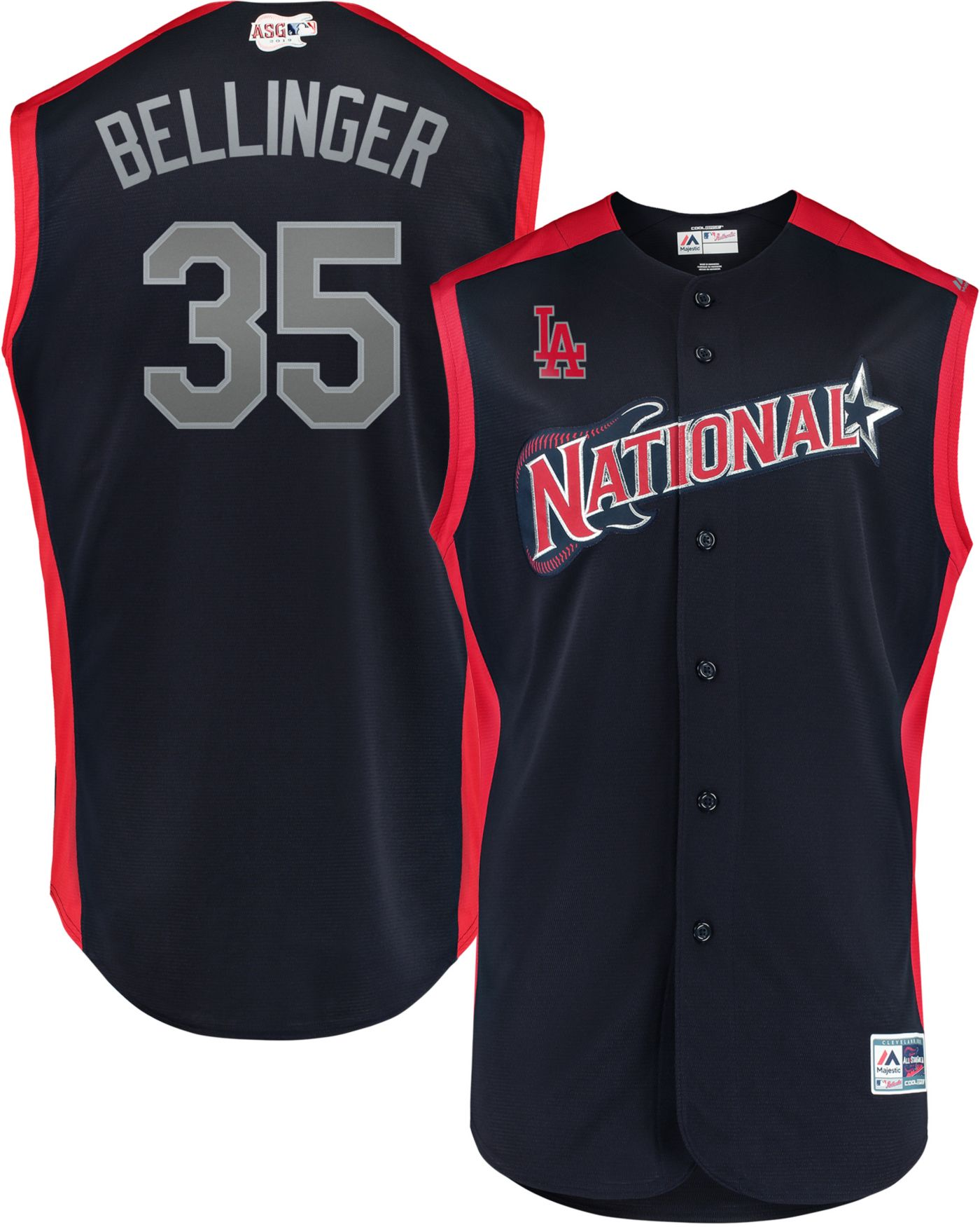 Majestic Men's 2019 National League Cody Bellinger #35 All-Star Game Cool Base Jersey