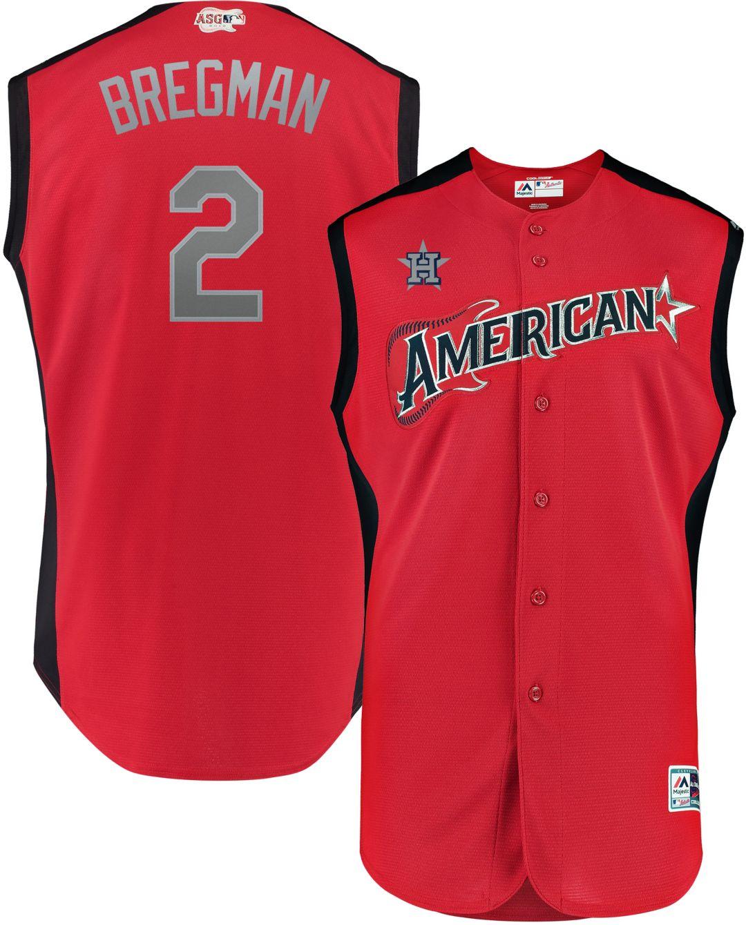 sports shoes 60812 e3da2 Majestic Men's 2019 American League Alex Bregman #2 All-Star Game Cool Base  Jersey