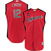 Majestic Men's 2019 American League Francisco Lindor #12 All-Star Game Cool Base Jersey