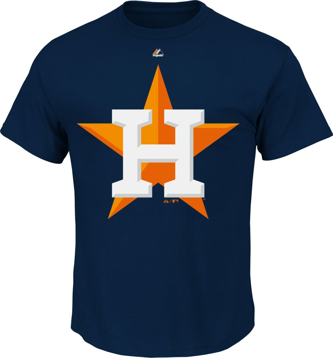 info for 6493a 10651 Majestic Men's Houston Astros T-Shirt