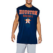 Majestic Big and Tall Men's Houston Astros Navy Muscle T-Shirt