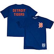 Majestic Big and Tall Men's Detroit Tigers Blue T-Shirt
