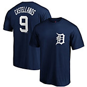 Majestic Men's Detroit Tigers Nick Castellanos #9 Navy T-Shirt
