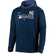 Majestic Men's New York Yankees Authentic Collection Pullover Hoodie