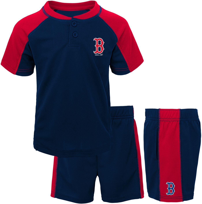 Gen2 Toddler Boston Red Sox Shorts & Top Set