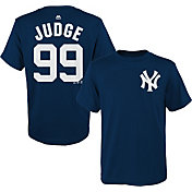 Majestic Toddler New York Yankees Aaron Judge #99 Navy T-Shirt