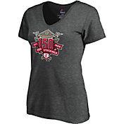 8ef561552bcf Product Image · Majestic Women s Cincinnati Reds 150th Anniversary Logo  V-Neck T-Shirt