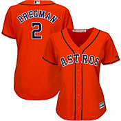 ce9f91f13 Product Image · Majestic Women s Replica Houston Astros Alex Bregman  2 Cool  Base Alternate Orange Jersey