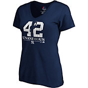 "Majestic Women's New York Yankees Mariano Rivera ""UnaniMOus"" 2019 Hall-of-Fame V-Neck T-Shirt"