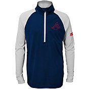 Gen2 Youth Atlanta Braves Half-Zip Pullover