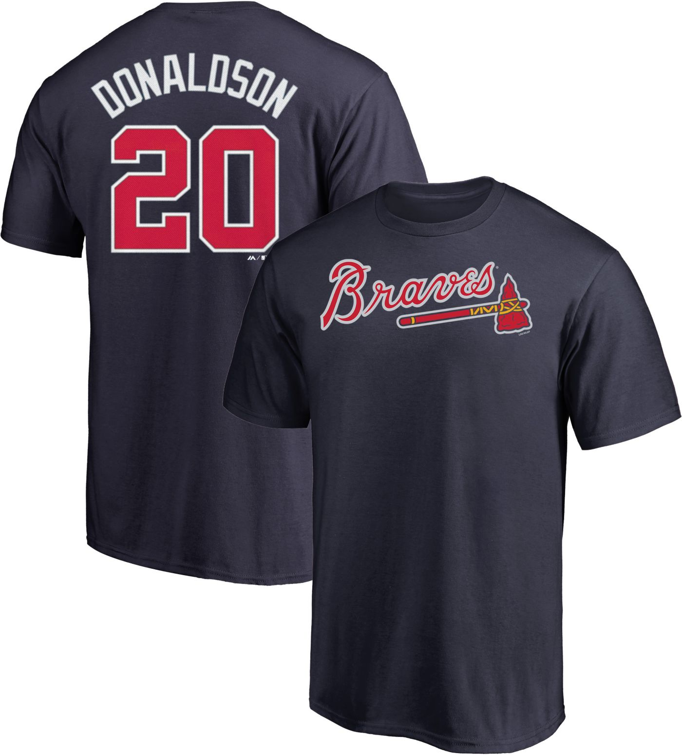 Majestic Youth Atlanta Braves Josh Donaldson #20 Navy T-Shirt