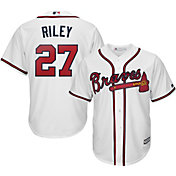 Youth Replica Atlanta Braves Austin Riley #27 Home White Jersey
