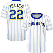 Majestic Youth Milwaukee Brewers Christian Yelich #22 T-Shirt