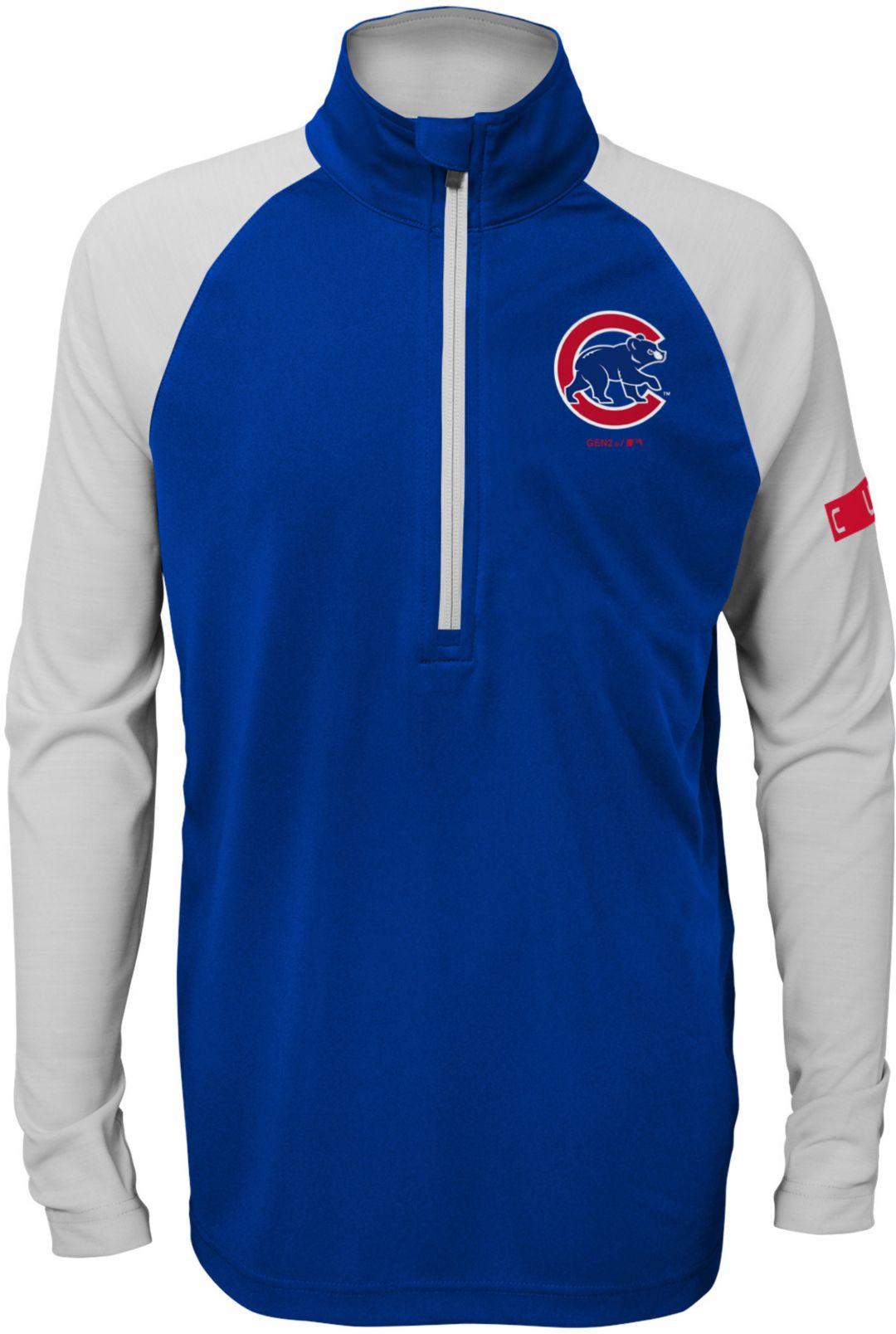promo code 538fc 75595 Gen2 Youth Chicago Cubs Half-Zip Pullover