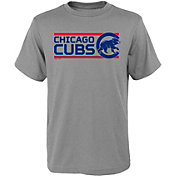Gen2 Youth Chicago Cubs Dri-Tek Grey T-Shirt