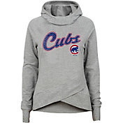Gen2 Youth Girls' Chicago Cubs Funnel Neck Pullover Hoodie