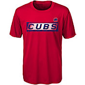 Gen2 Youth Chicago Cubs Switch Hitter Dri-Tek T-Shirt