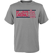 Gen2 Youth St. Louis Cardinals Dri-Tek Grey T-Shirt