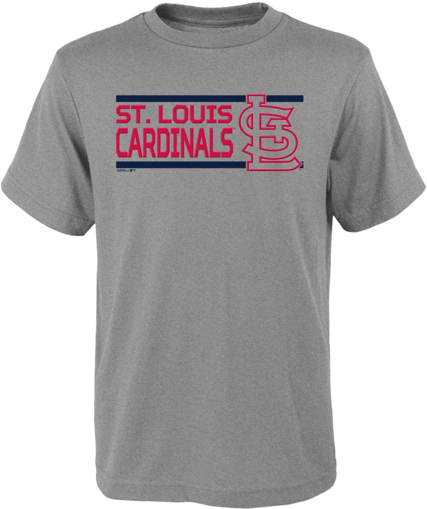 Gen2 Youth St. Louis Cardinals Dri-Tek Grey T-Shirt