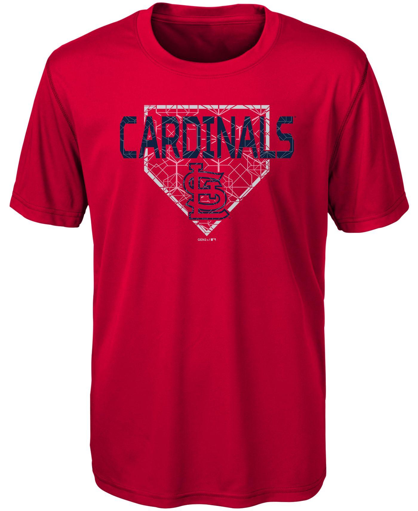 Gen2 Youth St. Louis Cardinals Dri-Tek Red T-Shirt