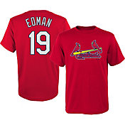 Majestic Youth St. Louis Cardinals Tommy Edman #19 Red T-Shirt