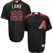 Majestic Youth Replica Arizona Diamondbacks Jake Lamb #22 Cool Base Alternate Black Jersey