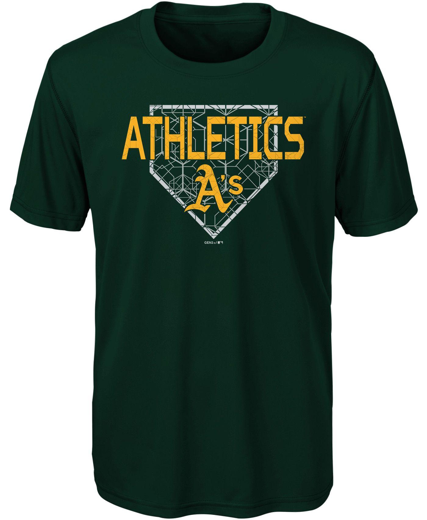 Gen2 Youth Oakland Athletics Dri-Tek Black T-Shirt